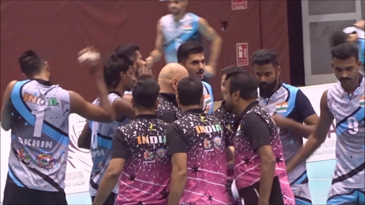 Download Qatar vs India Volley Ball Match 2019