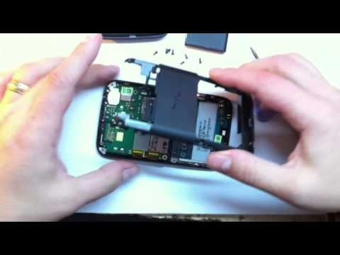 HTC ChaCha disassembly video