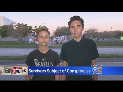 Parkland School Shooting Survivors Subject Of Conspiracies
