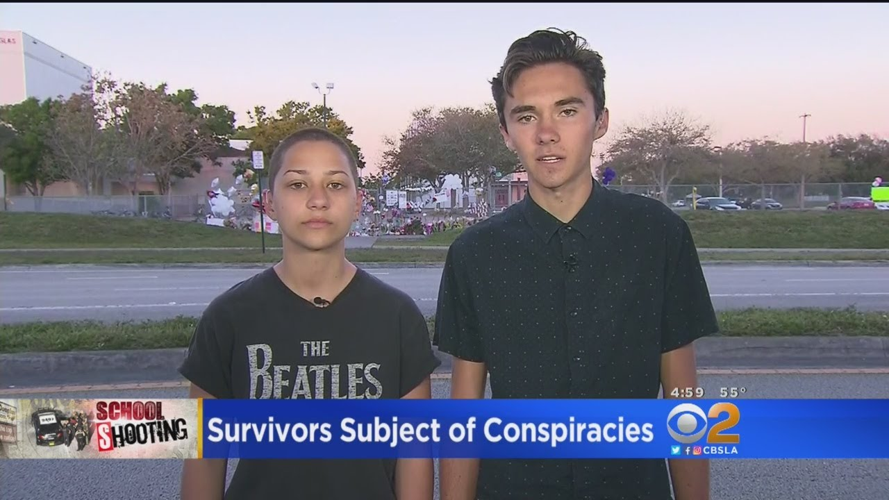 Parkland School Shooting Survivors Subject Of Conspiracies