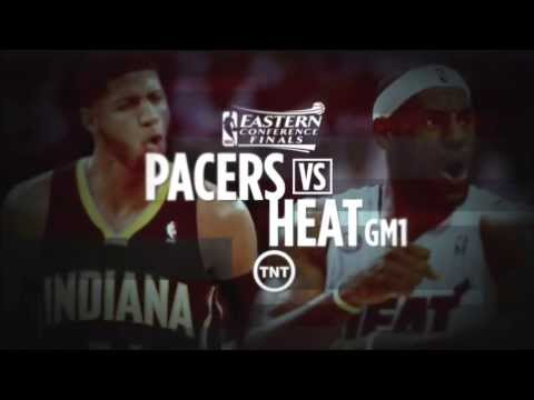 May 22, 2013 - TNT - Playoffs Eastern Conf Finals Game 01 Miami Heat Vs Indiana Pacers Win OT(01-00)