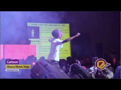 Cartoon Rocks Ghana Nija Stage