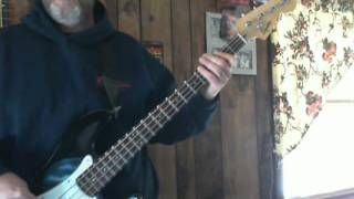 Talking Heads Once In A Lifetime Bass Cover