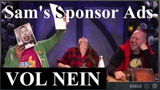 Sam's Sponsor Ads [VOL NEIN] (Critical Role)