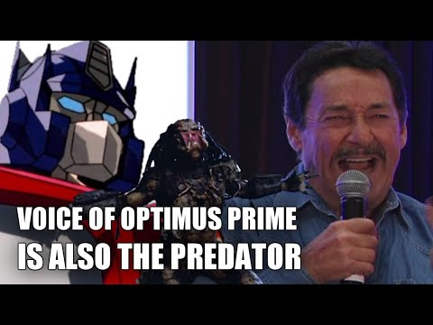 Voice of Optimus Prime is also The...