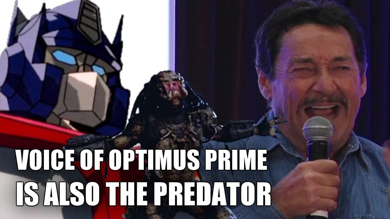 Voice Of Optimus Prime Is Also The Predator  Vocalizations By Peter Cullen