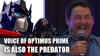 Voice of Optimus Prime is also The Predator (vocalizations by Peter Cullen) thumbnail