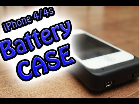 Battery Charger Case For IPhone 4/4s Review (BudgetGadgets)