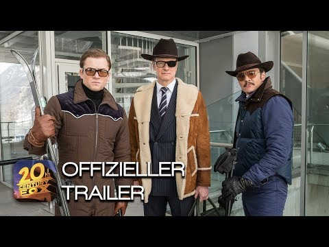 Kingsman: The Golden Circle | UHD Blu-ray, Blu-ray, DVD & Download | Trailer 5 | Deutsch HD | FSK 16