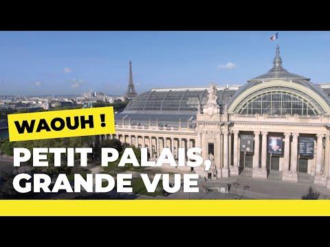 Découvrez Paris depuis le Petit Palais en Timelapse