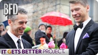 dan savage on the it gets better project   brain food daily   takepart tv