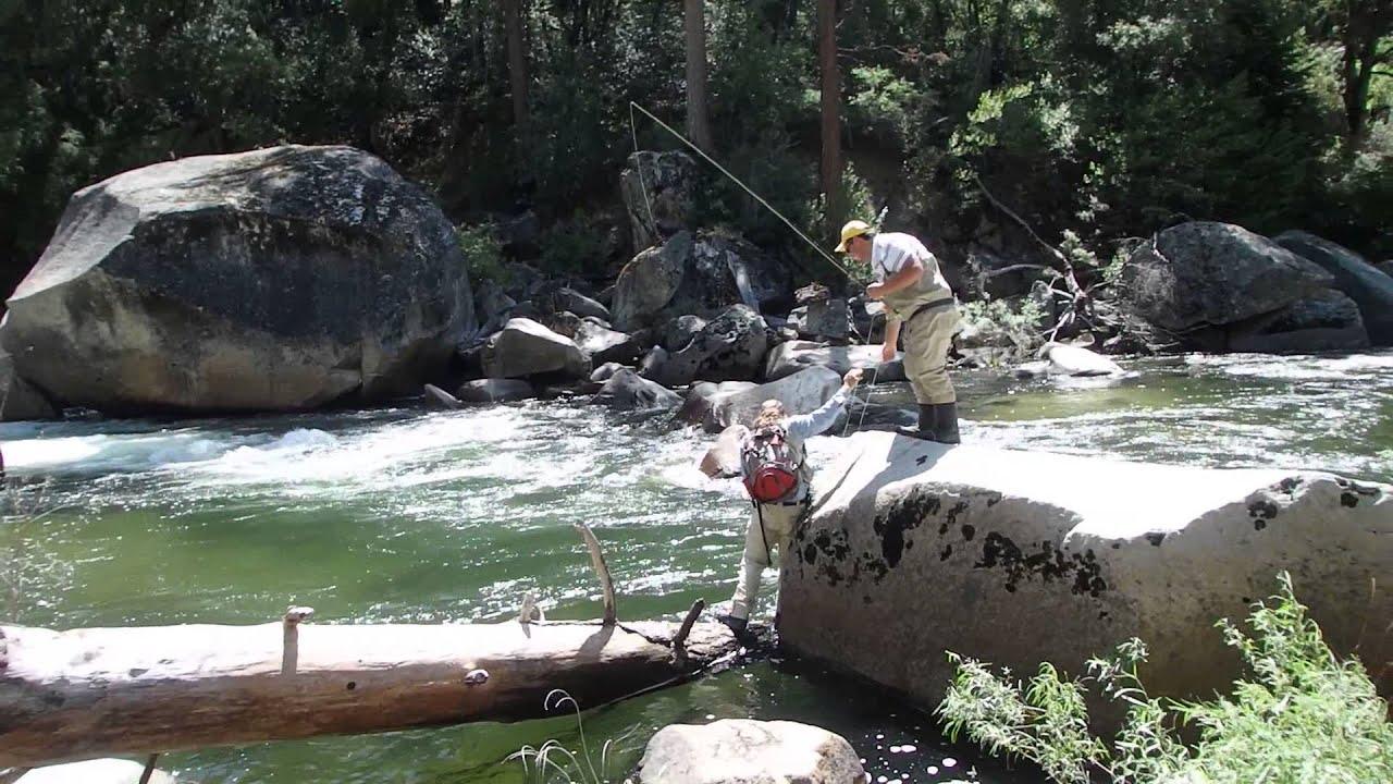 Fly fishing yosemite national park california youtube for Fly fishing yosemite
