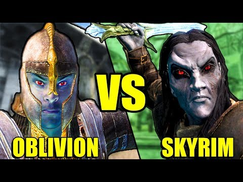5 Petty Reasons Why Oblivion Is Better Than Skyrim