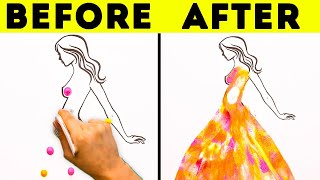 35 SATISFYING PAINTING TECHNIQUES THAT WILL GIVE YOU GOOSEBUMPS