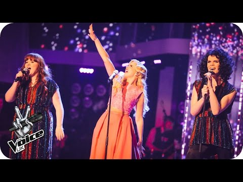Team Paloma perform 'Piece Of My Heart': The Live Semi-Final - The Voice UK 2016