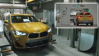 BMW X2 Production Line 2018 - The whole process of fabrication BMW X2 | HOW IT'S MADE