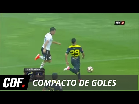 Everton 2 - 3 Colo Colo | 13° Fecha | Torneo Clausura 2016 - 2017 | CDF