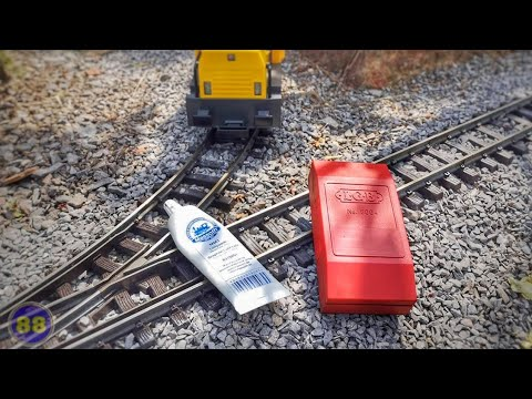 Track Cleaning and Maintenance – Made Easy – Garden Railway