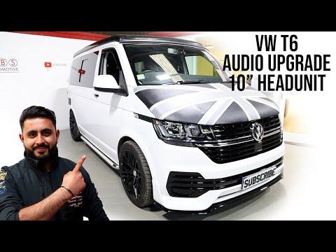 VW T6.1 Sound System - Sub UNDER Seat!   Speaker, Amp & HeadUnit Upgraded