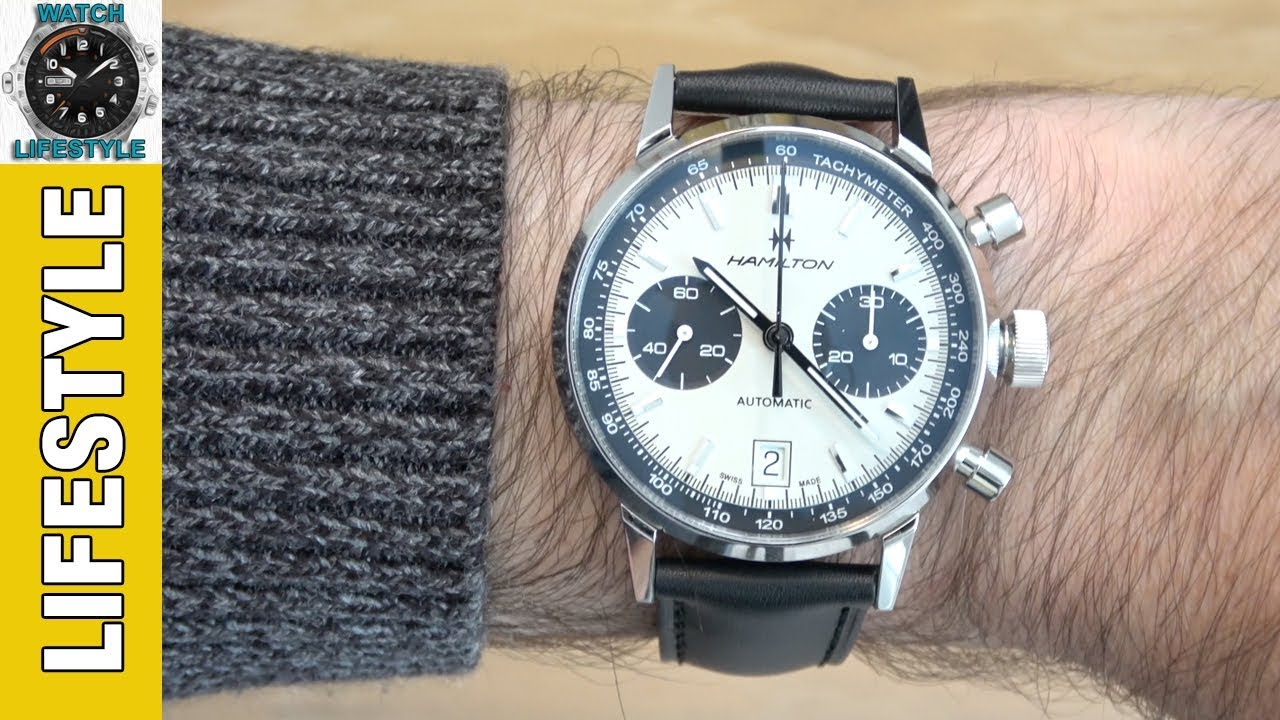 Hamilton Intra Matic Auto Chrono Watch Review H38416711 Youtube