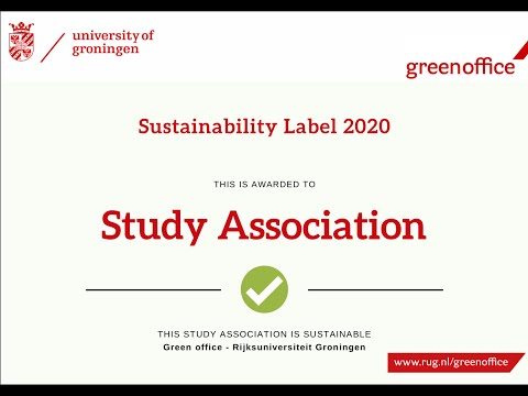 Green Office Labels 2019-2020 - Award Ceremony