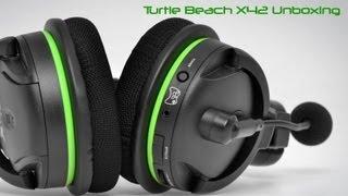 turtle beach x42 unboxing