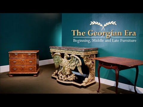The Georgian Era, an exhibit by M.S. Rau Antiques.