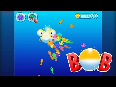 Bob, The 3D Blowfish - Fun Arcade Game For IPhone And Android