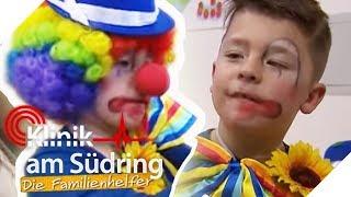 Klassen-Clown extrem: Wieso verkleidet Timo (7) sich seit 2 Wochen? | Die Familienhelfer | SAT.1