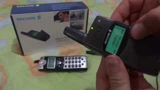 Functioning of a Ericsson T28 WORLD