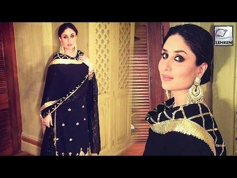 Pregnant Kareena Kapoor Khan's STUNNING Traditional Avatar!   LehrenTV