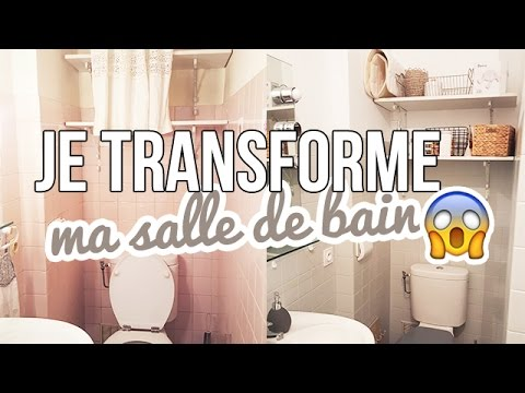 relooker sa salle de bain astuces faciles pas cheres youtube. Black Bedroom Furniture Sets. Home Design Ideas