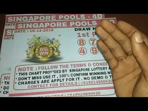 Win Singapore Pools 4D Lotto with 100% GURENTEE