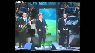 U2 & Luciano Pavarotti -   Miss Sarajevo - Subtitulos Español, Italiano, Croata - SD