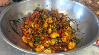 Yellow Tomato & Cherry Tomato Balsamic Salad