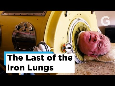 The Last Few Polio Survivors – Last of the Iron Lungs