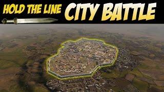 Total War Attila  Hold the Line (City Battle)