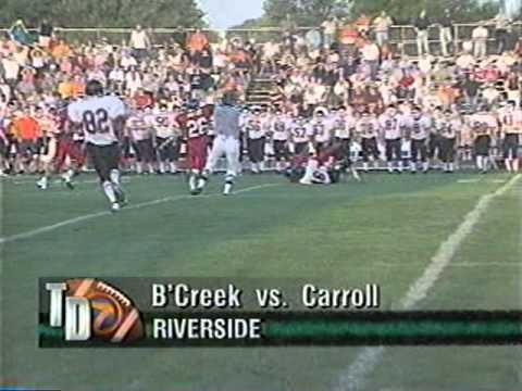 Dayton Carroll Football 1999 Season News Clips 1