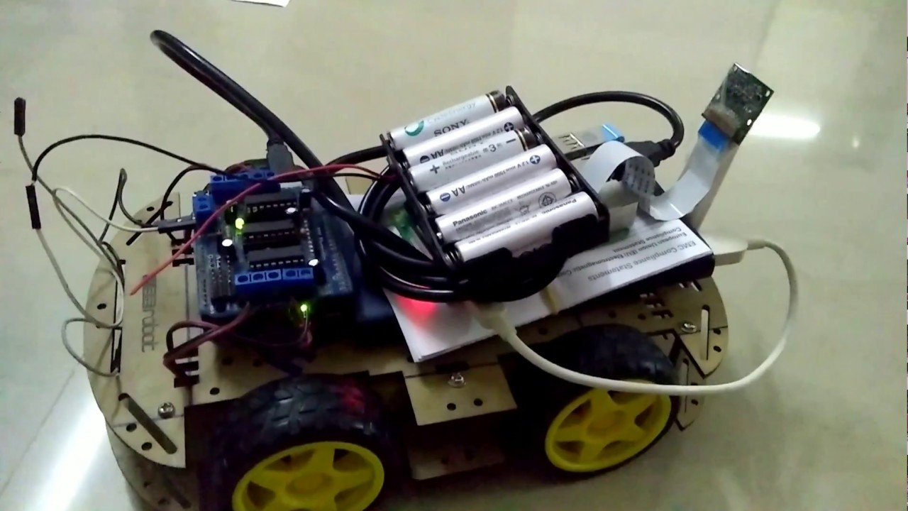 Self driving RC car using Tensorflow and Raspberry pi Deep learning