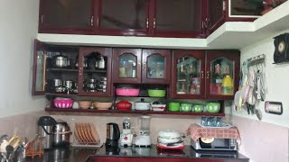 kitchen Tour/ Indian kitchen Tour/ Small kitchen Tour/Kitchen Organization