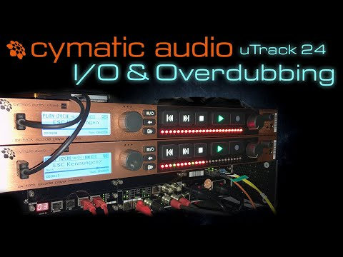 Cymatic Audio uTrack 24 in/out and overdubbing