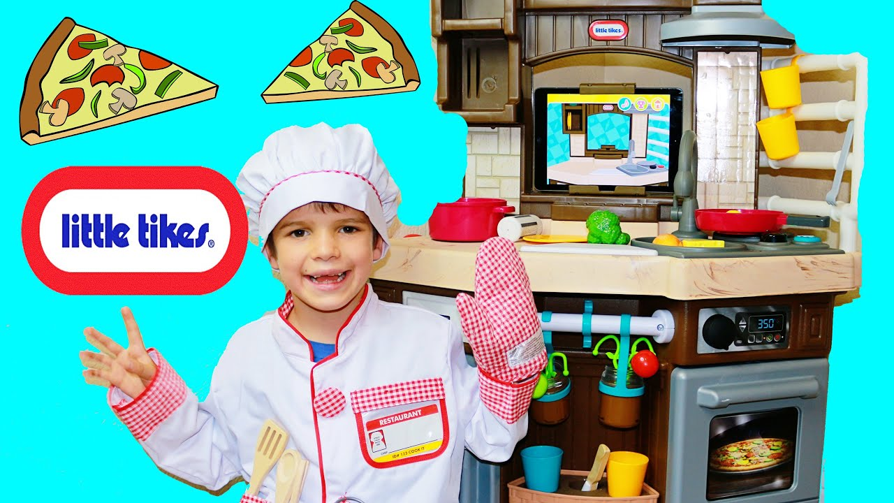 Little tikes cash register - Little Tikes Play Kitchen Cook N Learn Smart Kitchen Ipad App Food Cooking Recipes Youtube