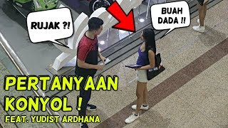 RUJAK BUAH DADA ? / POLISI TIDUR MIMPI BASAH ? COMMENT TROLL Feat. Yudist Ardhana - PRANK INDONESIA
