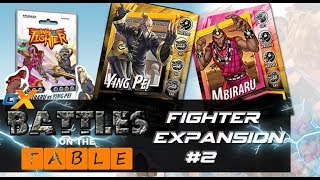 Game Nexus: Way of the Fighter Fighter Expansion #2 Unboing