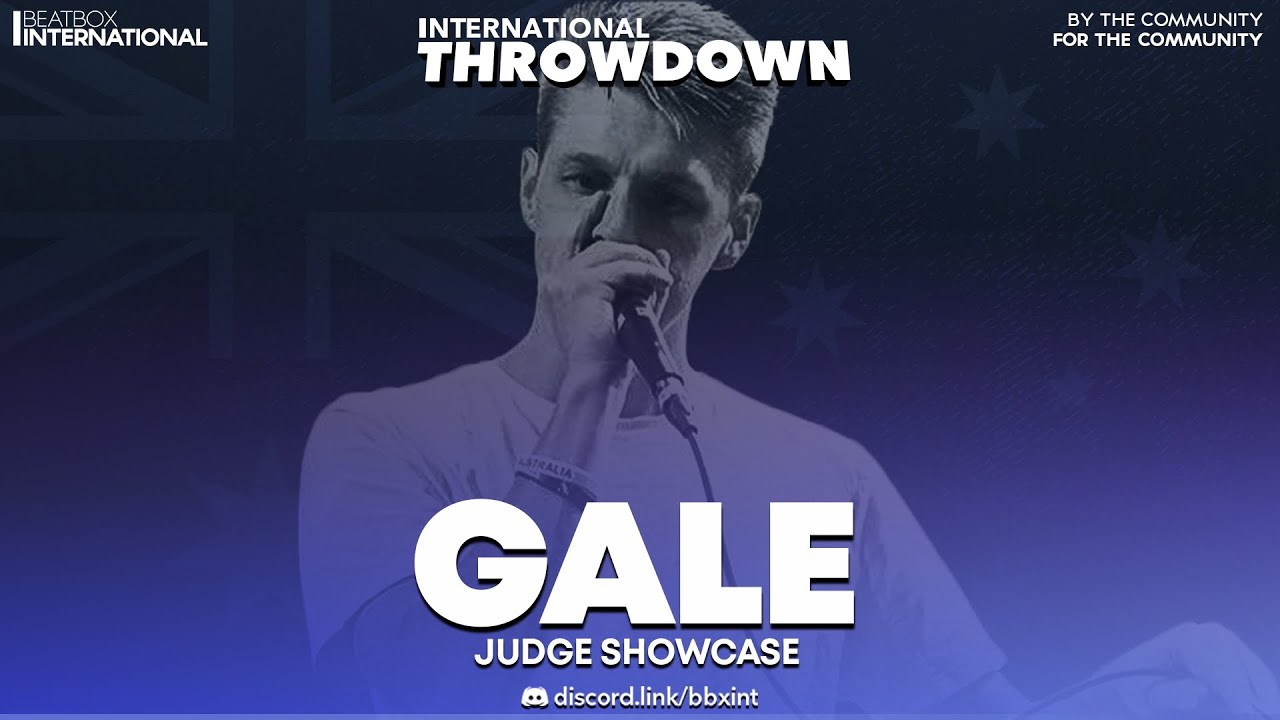 GALE 🇦🇺 | Judge Showcase | International Throwdown
