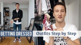 Styling Converse Sneakers | Getting Dressed (Step by Step #20)