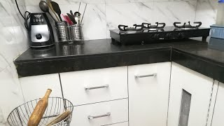 Full kitchen tour / Tips to make small kitchen look big and spacious