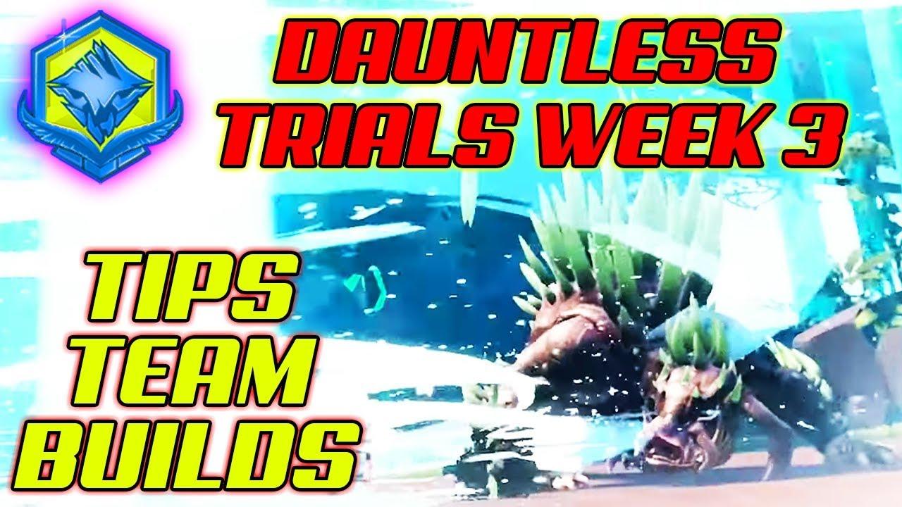 DAUNTLESS EASY TRIALS? WEEK 3 Deadeye