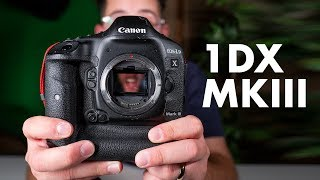 Canon EOS 1DX Mark III PREVIEW - The King is BACK!