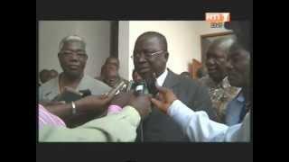 Rencontre entre les membres du bureau politique du PDCI et les ministres issus de ce parti